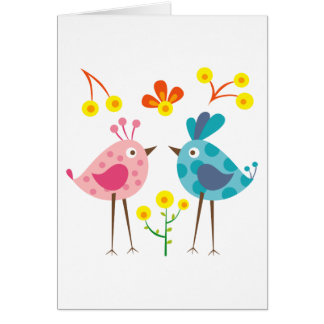 polkadot bird 1 card
