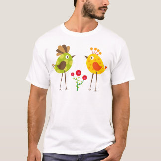 polkadot bird 2 T-Shirt