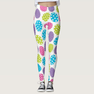 Polkadot Easter Eggs Leggings