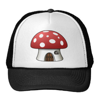Polkadot Mushroom Hat