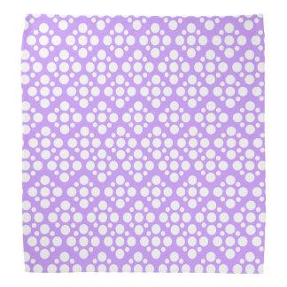 Polkadot Purple dog Do-rag