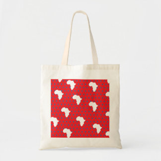 Polkadots Africa Canvas Bag
