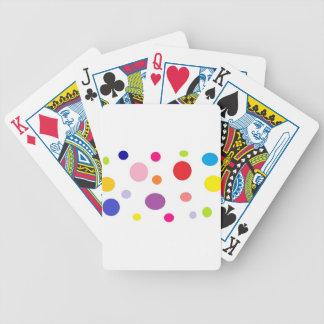 polkadots bicycle playing cards