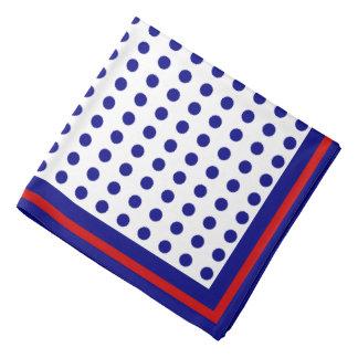 polkadots, elegant bandana