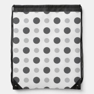 Polkadots Grey Backpacks