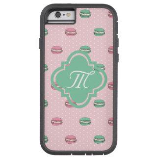 polkadots pink macarons 2.ai tough xtreme iPhone 6 case