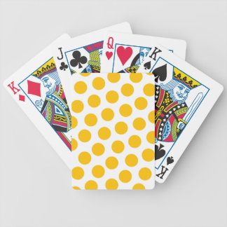 polki yellow playing cards