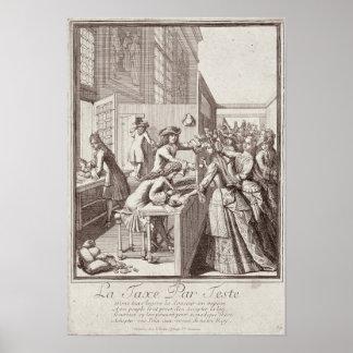 Poll Tax, 1709 Poster