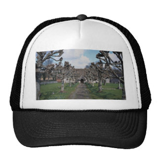 Pollarded lime guard of honor, St. Michael and All Trucker Hats