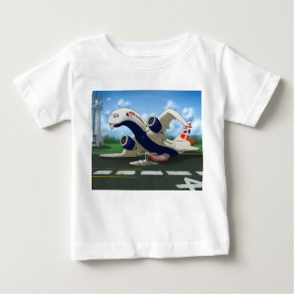 Polltraxx Hangar's exhausted British Airways Kids Baby T-Shirt