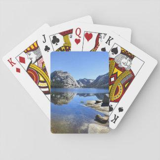 Polly Dome over Tenaya Lake - Yosemite Playing Cards
