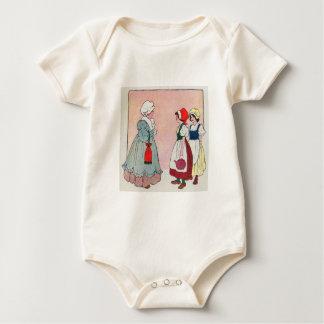 Polly, put the kettle on, Polly, put the kettle on Baby Bodysuit
