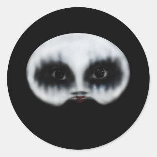 Polly Round Sticker