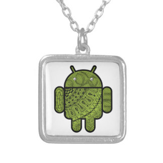 pollywollydoodles square pendant necklace