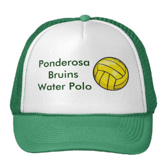 polo ball, Ponderosa Bruins Water Polo Cap
