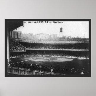 Polo Grounds Series Baseball 1913 Poster