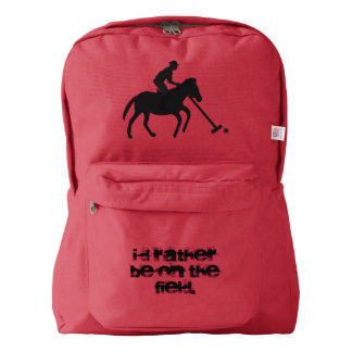Polo I'd Rather Be on the Field Backpack