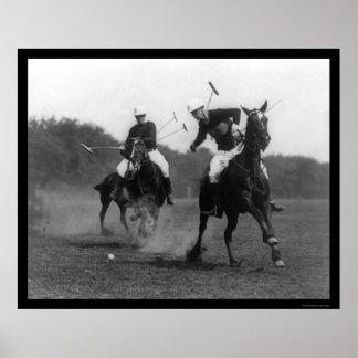 Polo Match Field Artillery 1926 Poster