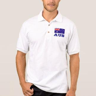 Polo shirt with Australian flag | Australian AUS