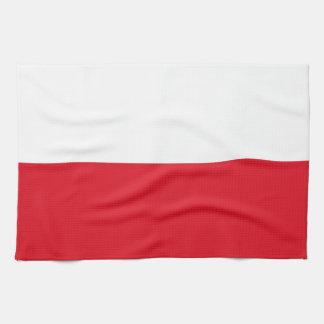 Polonian flag hand towel
