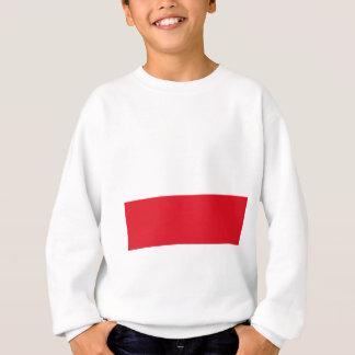 Polonian flag sweatshirt