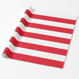 Polonian flag wrapping paper