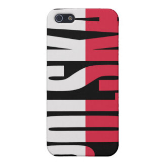 Polska Flag iPhone case iPhone 5 Covers