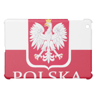 Polska Flag White Eagle  iPad Mini Cover