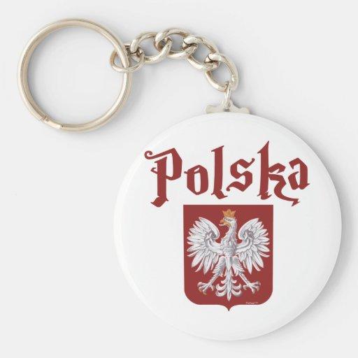Polska Keychain