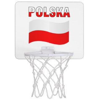 Polska Mini Basketball Hoop