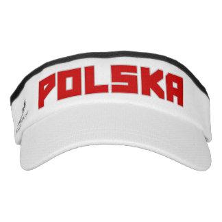 Polska ( Poland ) bold text Visor Hat
