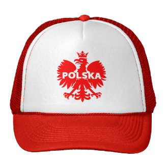 Polska, Poland Cap Mesh Hats