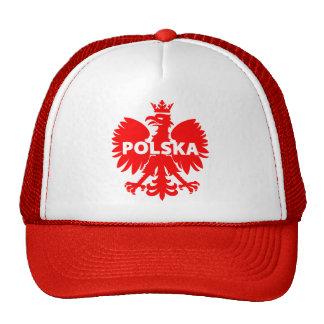 Polska Poland Cap Mesh Hats