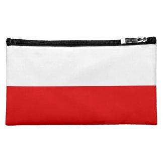 Polska Polish Flag Cosmetic Bag