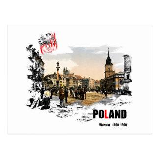 Polska - Warszawa 1980-1900 Postcard