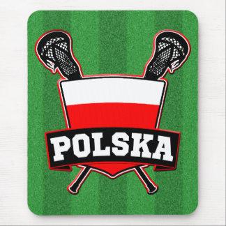 Polski Poland Lacrosse Mouse Pad