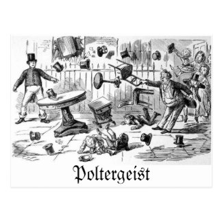 Poltergeist postcard