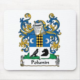 Polunin Family Crest Mouse Pad