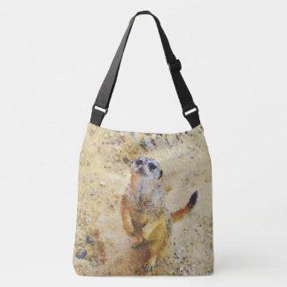 Poly Animals - Meerkat Crossbody Bag