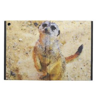 Poly Animals - Meerkat iPad Air Cover