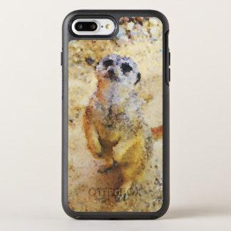 Poly Animals - Meerkat OtterBox Symmetry iPhone 8 Plus/7 Plus Case