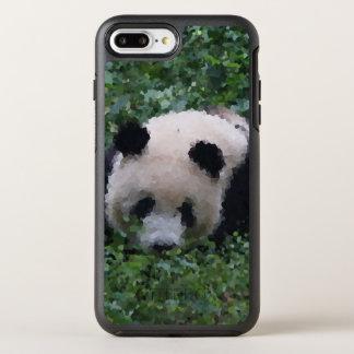 Poly Animals - Panda OtterBox Symmetry iPhone 8 Plus/7 Plus Case