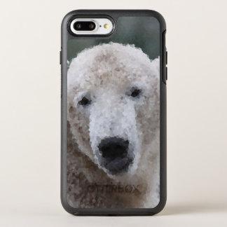 Poly Animals - Polar Bear OtterBox Symmetry iPhone 8 Plus/7 Plus Case