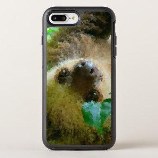 Poly Animals - Sloth OtterBox Symmetry iPhone 8 Plus/7 Plus Case