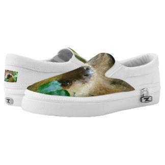 Poly Animals - Sloth Slip On Shoes