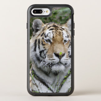 Poly Animals - Tiger OtterBox Symmetry iPhone 8 Plus/7 Plus Case