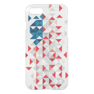 Poly Art, American Flag Colors iPhone 8/7 Case