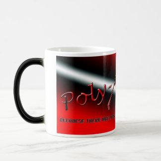 Poly-Atheism Mug with Background