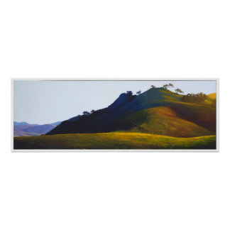 Poly Canyon Pasture Poster