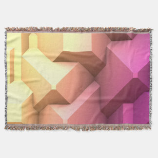 Poly Fun 2A Throw Blanket